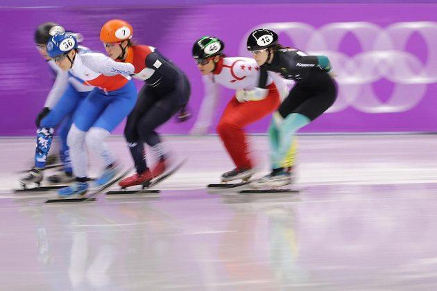 Postup se nekonal. Česká rychlobruslařka na krátké dráze Michaela Sejpalová obsadila v Kangnungu v rozjížďce na 1500 metrů čtvrté místo a do semifinále nepostoupila.
