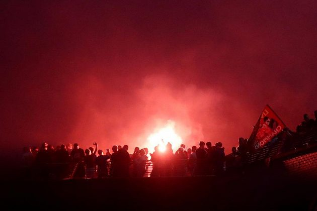 Liverpool se ponořil do červené barvy.