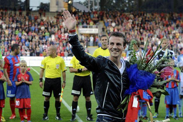 Záložník Vladimír Darida se rozloučil s plzeňskými fanoušky. Darida přestoupil do bundesligového Freiburgu.