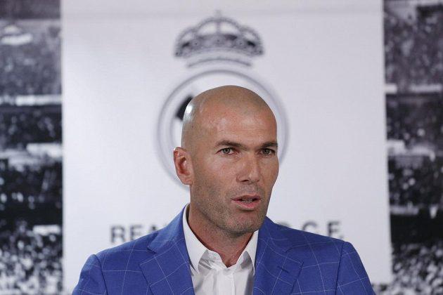 Zinédine Zidane, nový trenér Realu Madrid.