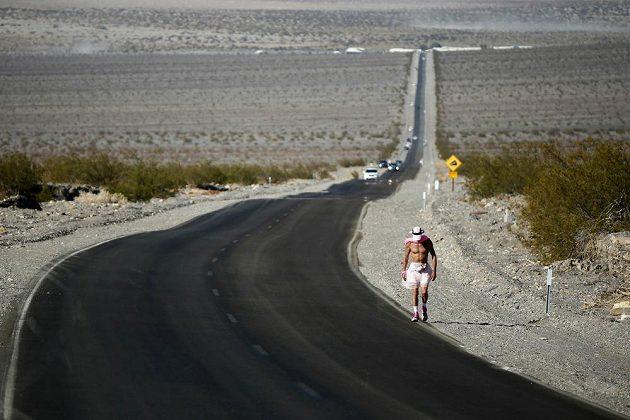 Badwater, to je 217 km pustinou.