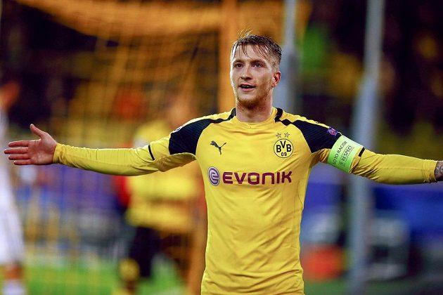 Autor hattricku proti Legii Varšava Marco Reus z Borussie Dortmund.
