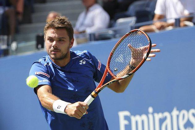 Švýcar Stan Wawrinka je ve čtvrtfinále US Open.