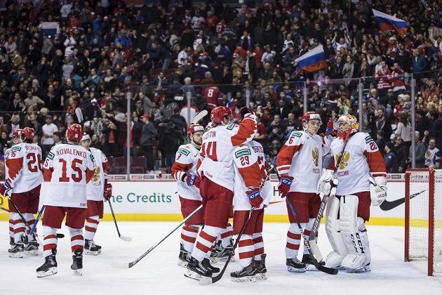Ruští mladíci porazili ty české těsně 2:1.
