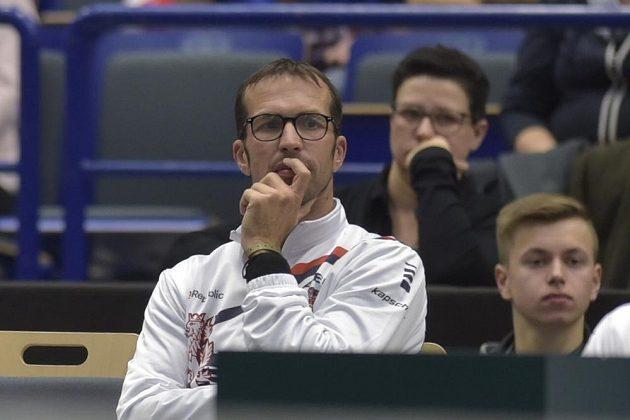 Marný boj páru Veselý, Rosol sledoval v Ostravě i někdejší vítěz Davisova poháru Radek Štěpánek.