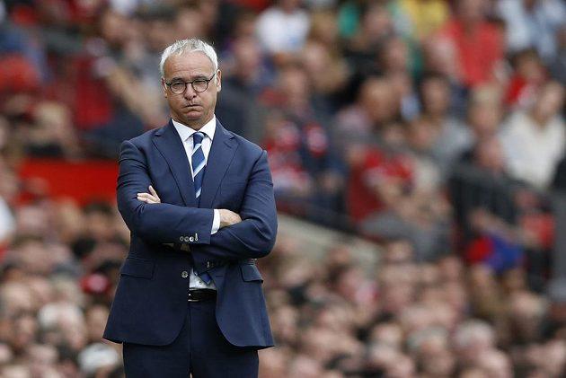 Kouč úřadujících anglických šampiónů Claudio Ranieri