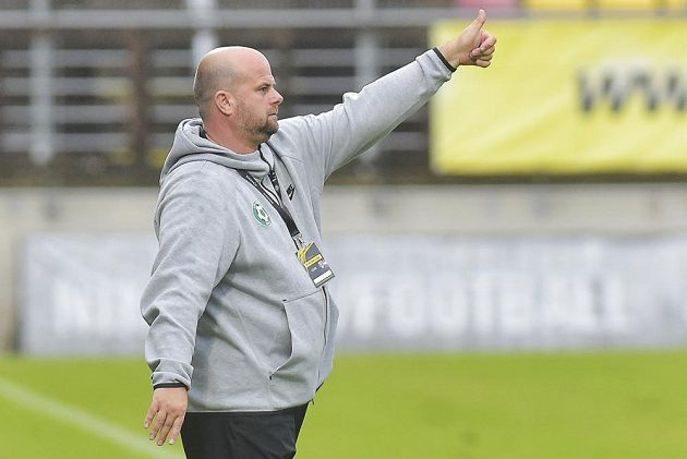 Trenér Příbrami Roman Nádvorník byl po utkání s Českými Budějovicemi spokojený.