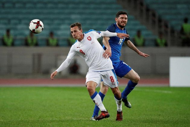 Ázerbájdžánec Javid Gusejnov a Vladimír Darida.