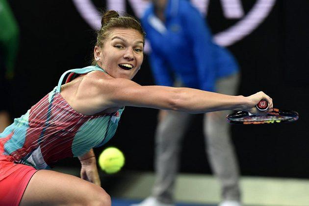 Rumunka Simona Halepová nezvládla roli favoritky, na Australian Open skončila už v prvním kole.