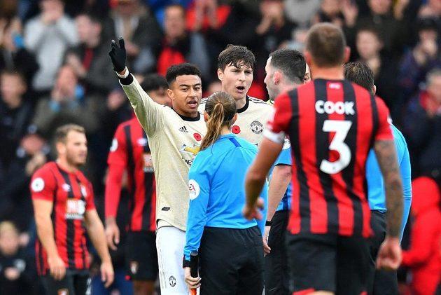 Fotbalisté Manchesteru United podlehli v anglické lize Bournemouthu 0:1