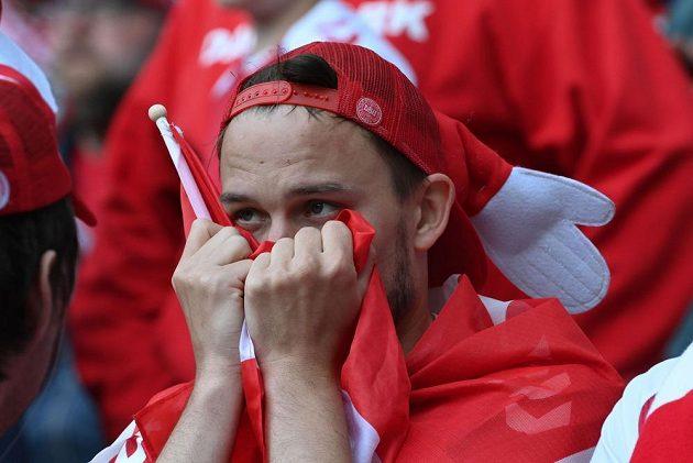 Dánští fotbalisté byli po zranění Eriksena v šoku.