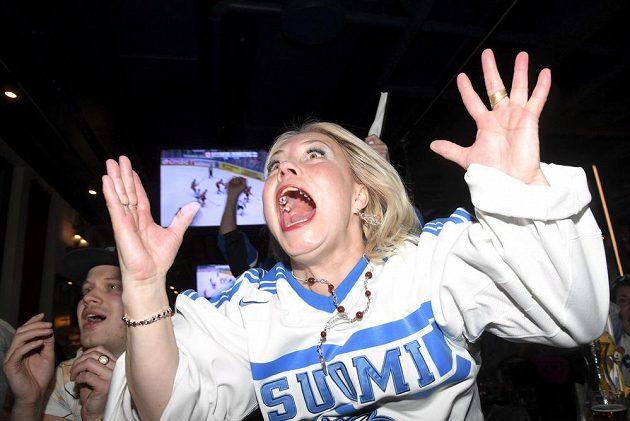 Napětí a radost. Finové jsou zlatí, jejich fanoušci nadšení.