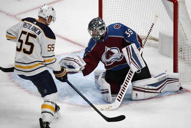 Brankář Colorada Avalanche Pavel Francouz opět zářil v NHL.