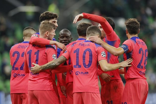 Fotbalisté Chelsea potvrdili v zápase s Krasnodarem roli favorita