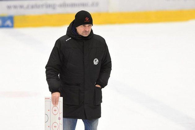 Trenér Vítkovic Miloš Holaň.