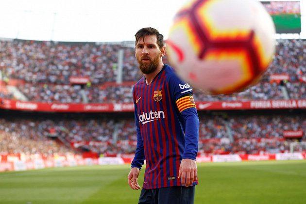 Lionel Messi byl hlavní hvězdou utkání