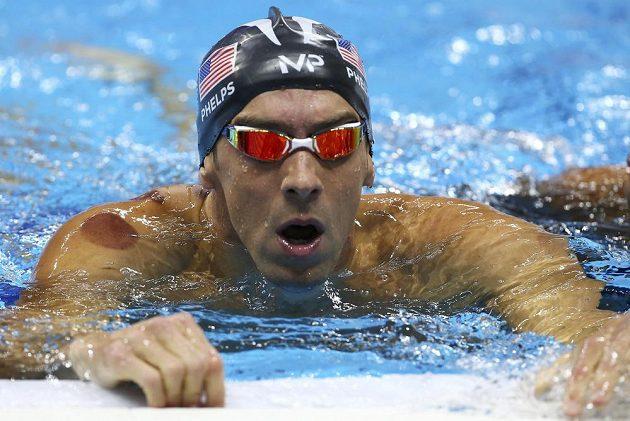 Legendární americký plavec Michael Phelps.