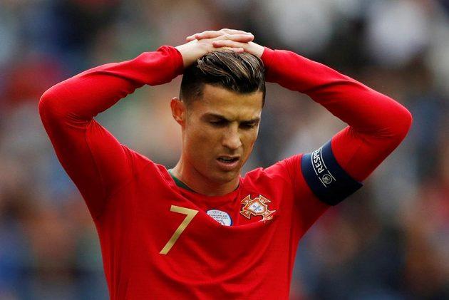 Ronaldo lituje zahozené šance