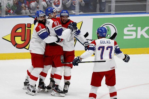 Česká radost v utkání o bronz s Ruskem.