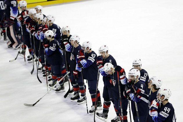 Americký smutek po semifinále se Švédskem na MS v Dánsku.
