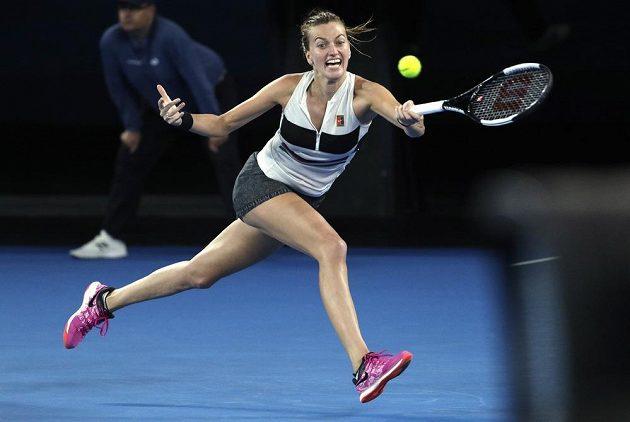 Kvitová se ve finále australského grandslamu rvala neskutečně.