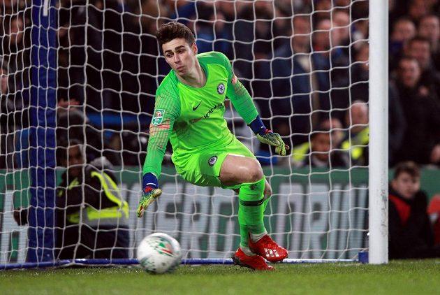 Postup do finále Ligového poháru pomohl vychytat pro Chelsea brankář Kepa Arrizabalaga. Chelsea vyhrála v rozstřelu nad Tottenhamem 4:2.