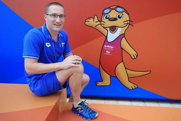 Sportovní psycholog Michal Šafář na archivním snímku.