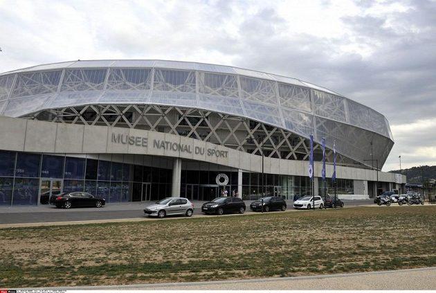 Hlavní vchod Národního muzea sportu ve francouzské Nice.