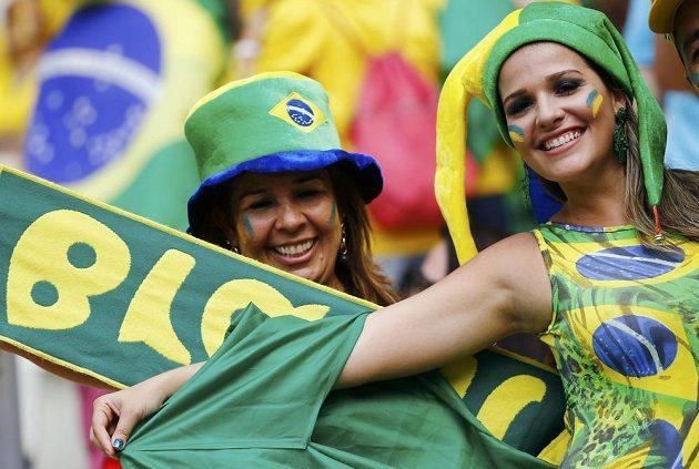 Tyhle dámy přály Brazílii.