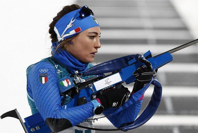 Italská závodnice Dorothea Wiererová byla ve sprintu ve druhé desítce.