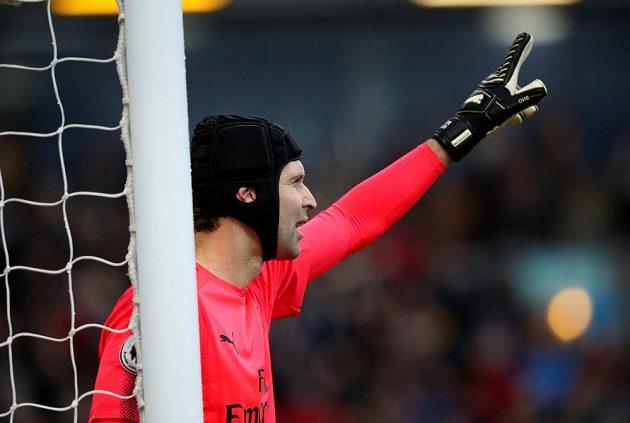 Brankář Arsenalu Petr Čech je velkou oporou londýnského týmu. Proti Burnley vychytal už 196. čísté konto v Premier League.