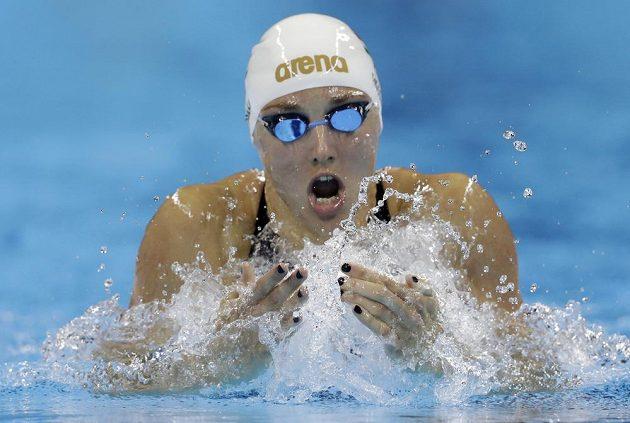 Katinka Hosszuová z Maďarska si v Brazílii doplavala pro třetí zlato.