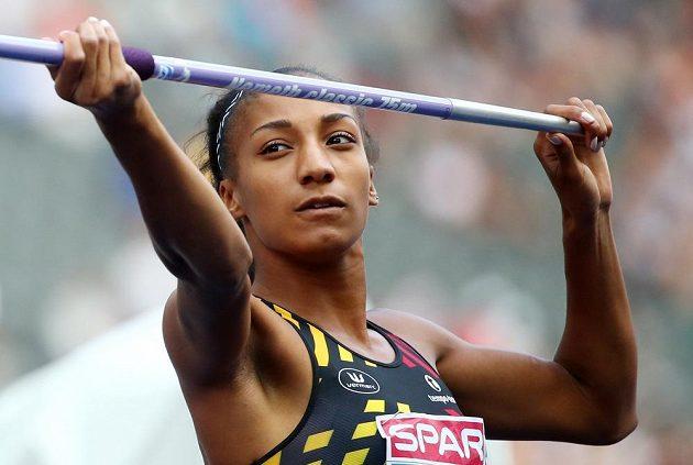 Belgická favoritka sedmiboje Nafissatou Thiamová udělala v oštěpu výrazný krok k celkovému triumfu.