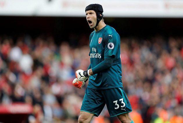 Petr Čech v utkání s Bournemouthem neinkasoval.