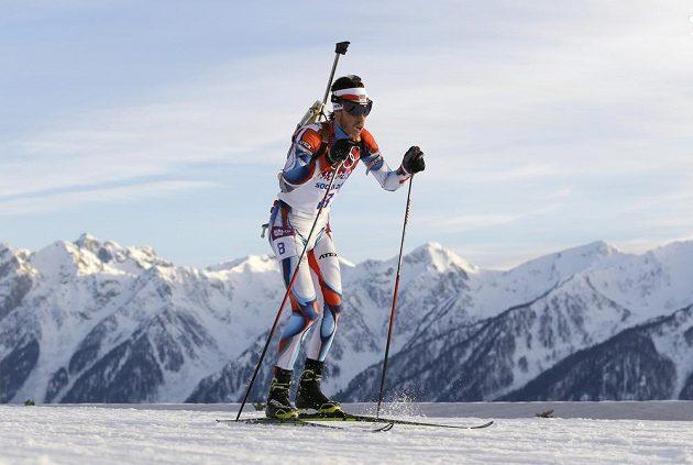 Jaroslav Soukup na trati vytrvalostního závodu na 20 km.