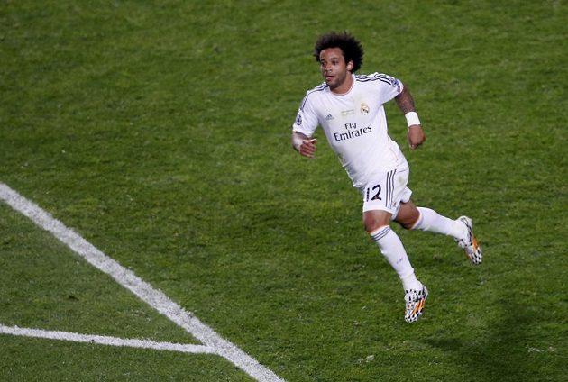 Mezi střelce se ve finále LM zapsal i Marcelo z Realu.