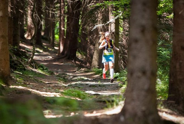 Xtrail Krkonoše Vrchlabí: Na vedro byli připraveni běžci i organizátoři.