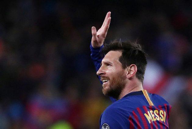 Lionel Messi byl pro obranu United největším nebezpečím