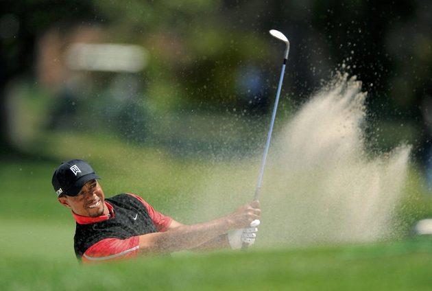 Golfista Tiger Woods na hřišti v Orlandu