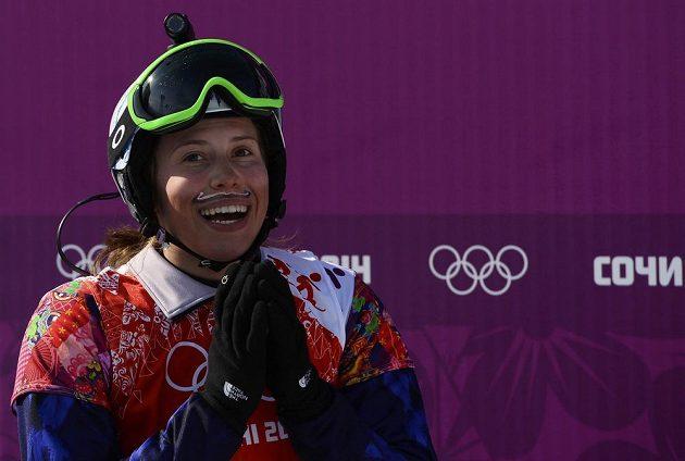 Dvacetiletá olympijská vítězka se rozplývá ze svého neskutečného úspěchu.