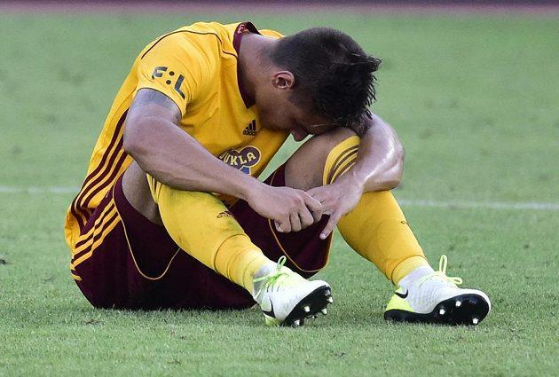 Zklamaný Martin Chlumecký si dal vlastní gól, Dukla podlehla na domácím hřišti Bohemians 0:1