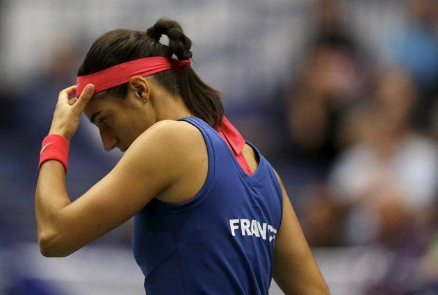 Francouzská tenistka Caroline Garciaová.