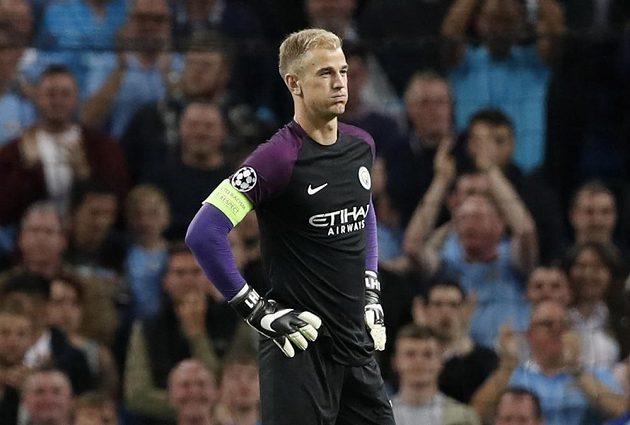 V odvetě proti Steaue dostal v bráně Manchesteru City důvěru Joe Hart.
