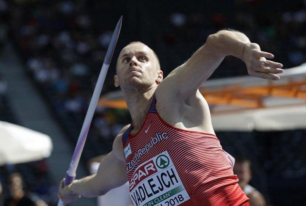 Český oštěpář Jakub Vadlejch v kvalifikaci ME.