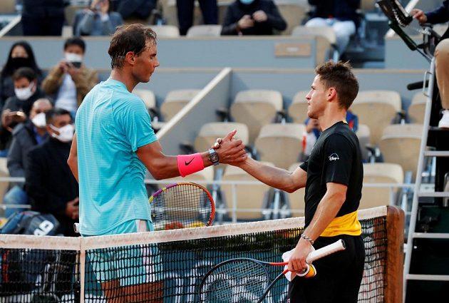 Rafael Nadal si v semifinále French Open poradil s Diegem Schwartzmanem