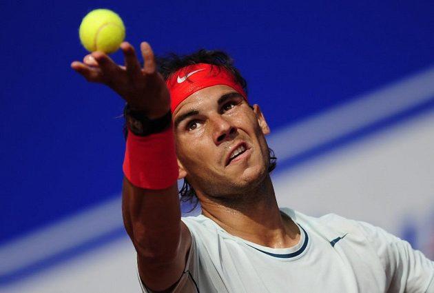 Rafael Nadal na turnaji v Barceloně.
