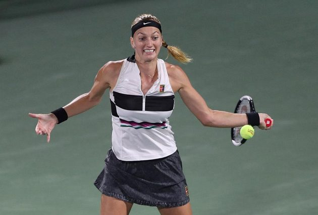 Petra Kvitová bojovala v Dubaji o titul