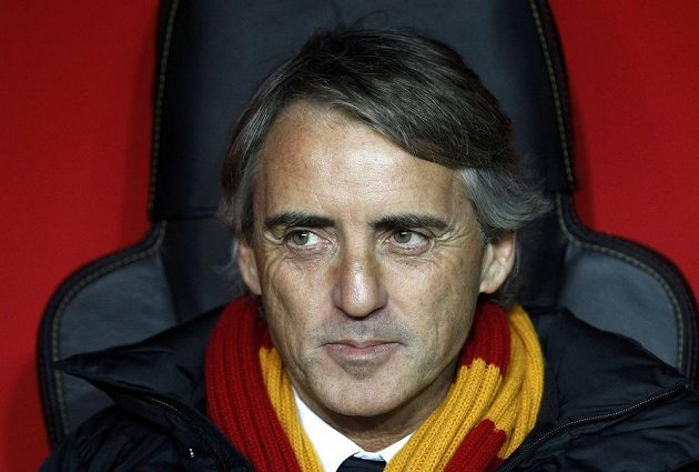 Trenér Galatasaraye Istanbul Roberto Mancini.