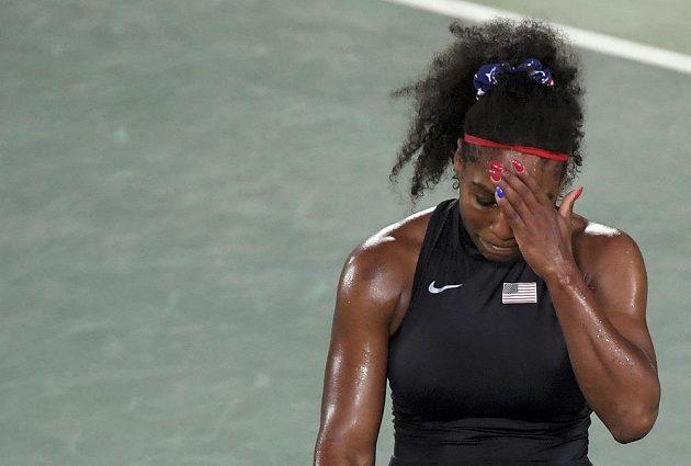 Serena Williamsová medaili na olympijských hrách v Riu nezíská.