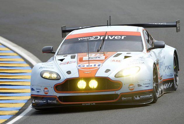 Dán Allan Simonsen v letošním ročníku závodu v Le Mans, na kterém smrtelně havaroval